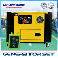 China Made Water Cooling 10kw Silent Portable Diesel Generators Price