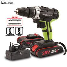 New 25V Electric Drill 25+1 Torque Screwdriver Electric Drill 1.5Ah Cordless Drill Batteries For Screwdrivers 45 N.m Screwdriver drill screwdriver stavr dshs 10 400 2s