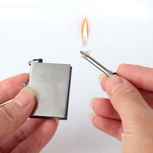 Tri-polar Outdoor Emergency Fire Starter Flint Match Lighter Metal Outdoor Camping Hiking Instant Survival Tool Safety No fuel