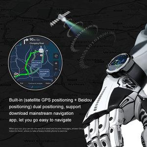Image 5 - LOKMAT 4G 5mp + 5mp كاميرا مزدوجة ساعة ذكية الرجال الروبوت 7.1 MTK6739 1GB + 16GB 400*400 AMOLED شاشة GPS WIFI ساعة ذكية لنظام تشغيل الأندرويد