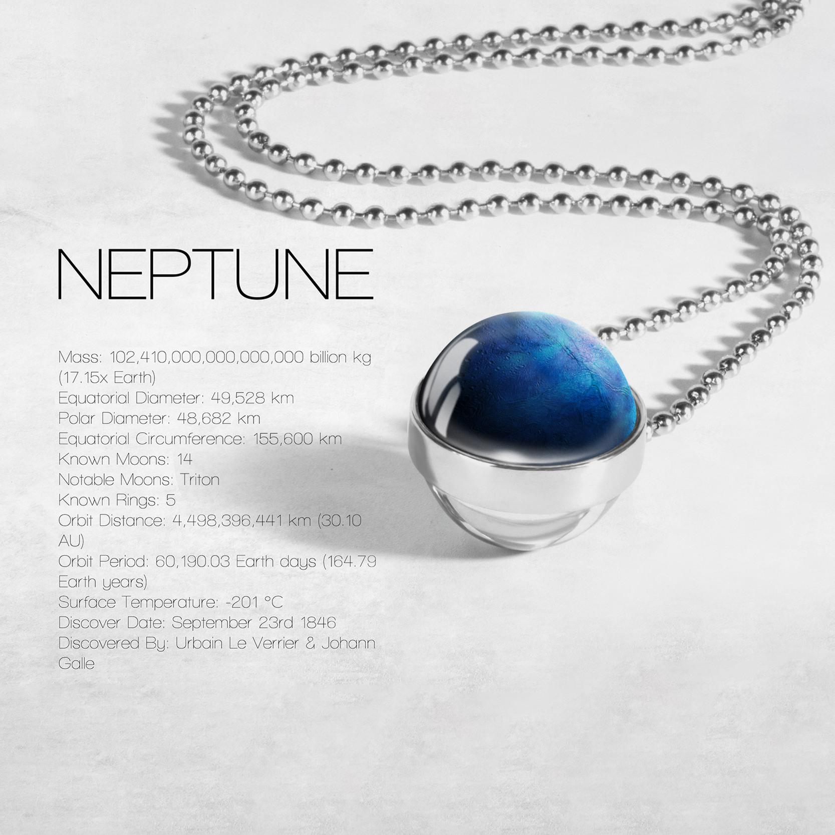 Globe Double Sided Necklace Solar System Planet Venus Mercury Mars Saturn Uranus Neptune Earth Sun Pendant Dome Glass Necklaces 3
