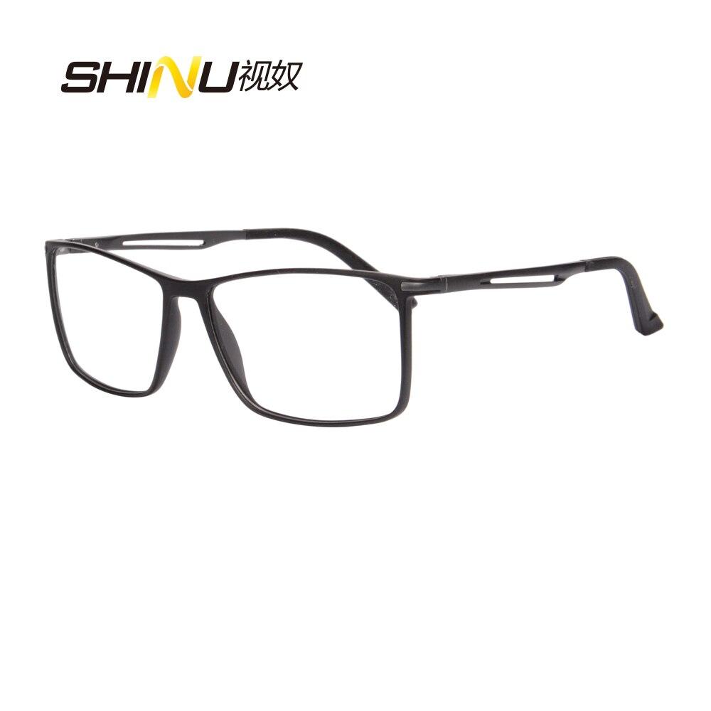 SHINU Brand Multifocal Progressive Reading Glasses For Men Women Points For Mens Reading Glasses Tr90 Metal