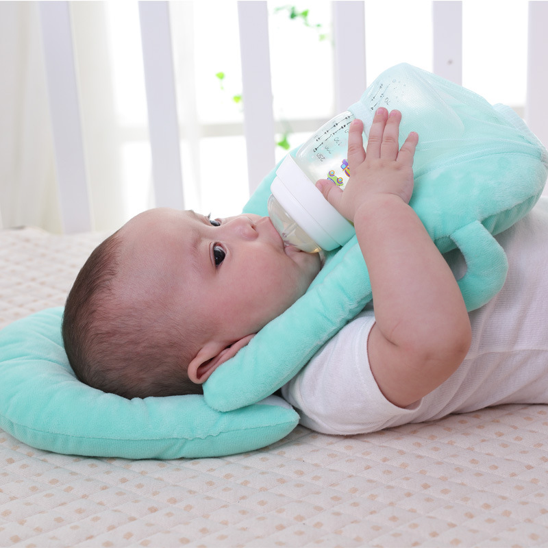 Pillow Portable Breastfeeding Pillow Baby Nursing Pillow Pregnant 2017 Infant Case Breast Feeding Cover Memory Pillow Head Support Neck Baby Bedding