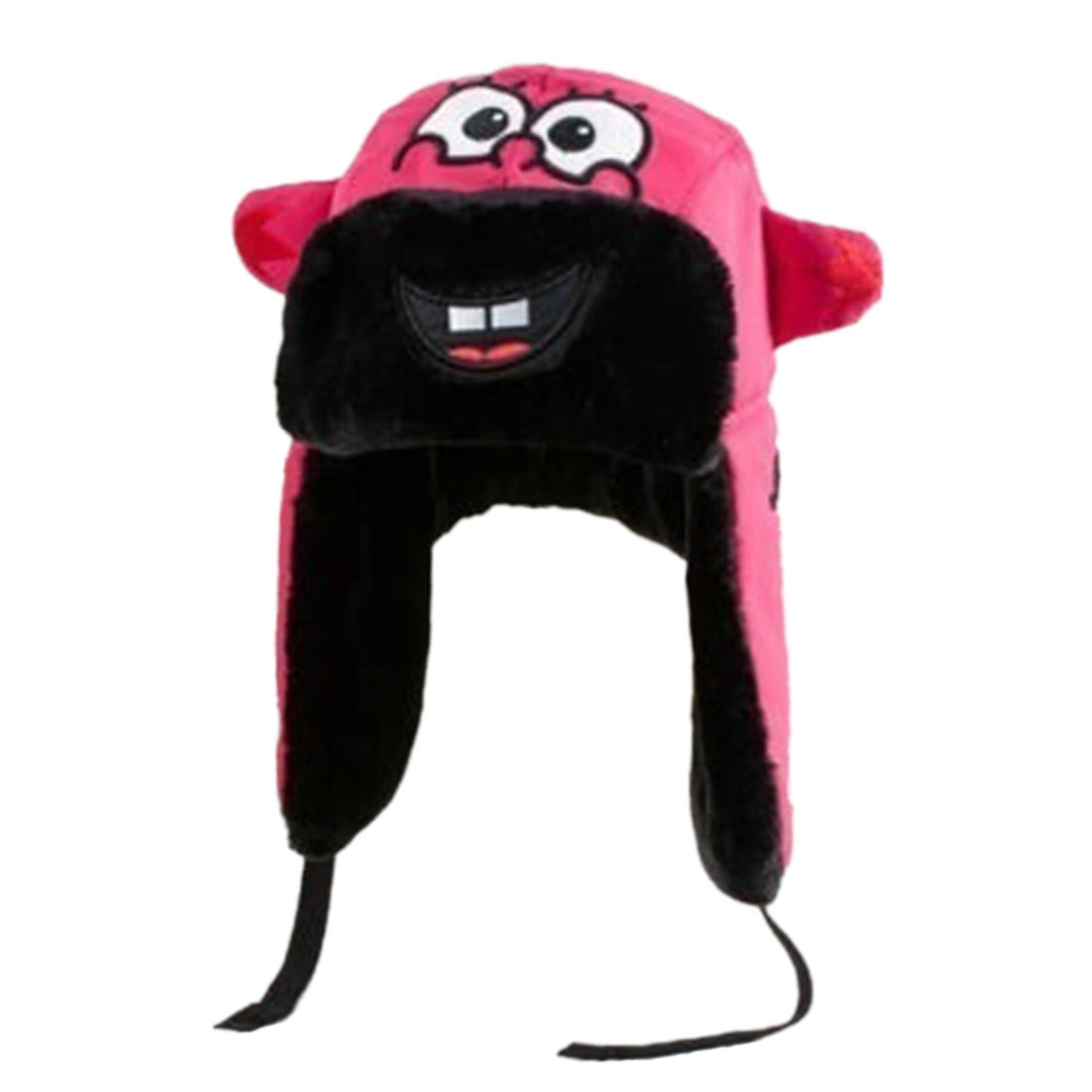 Cute Baby Toddler Winter Beanie Warm Hat Hooded Scarf Earflap Waterproof Cap Kid Rose