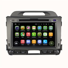 Quad Core HD 2 din 8″ Android 5.1 Car PC DVD Auto Stereo Player for Kia Sportage R /Sportage With GPS 3G/WIFI BT IPOD Radio USB