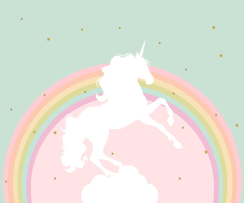 4203b06348b67 Buy unicorn wedding birthday background and get free shipping on  AliExpress.com