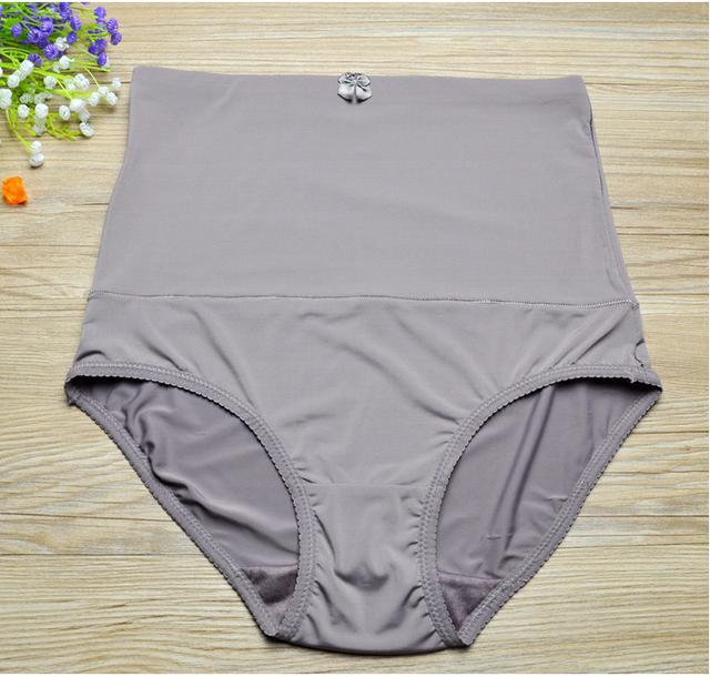 2016 de la Alta Cintura Que Adelgaza Faja Más Tamaño Las Mujeres la Ropa Interior A Tope Levantador Pantiers Body Control Faja Caliente