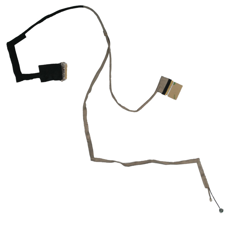 New Laptop Cable For ASUS X501 X501A X501U DD0XJ5LC011 Repair Notebook LED LVDS CABLE new notebook laptop keyboard for asus g51 g51j g51v g53 g53jw g60 g60j g72 g73 hungarian hu layout