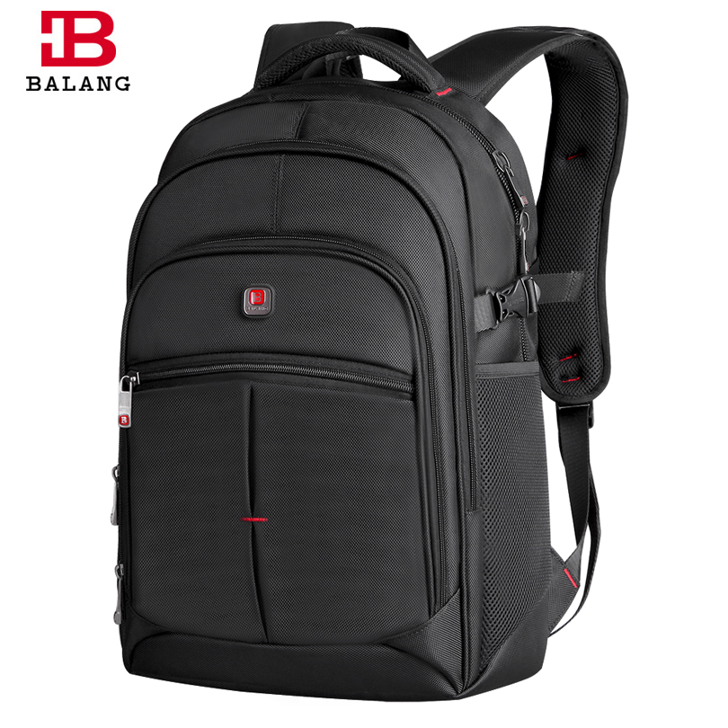 2018 BALANG New Fashion Laptop Backpack Unisex for 14-17Inch Notebook Computer Rucksack Casual School Bag Backpacks for Teenager lowepro protactic 450 aw backpack rain professional slr for two cameras bag shoulder camera bag dslr 15 inch laptop
