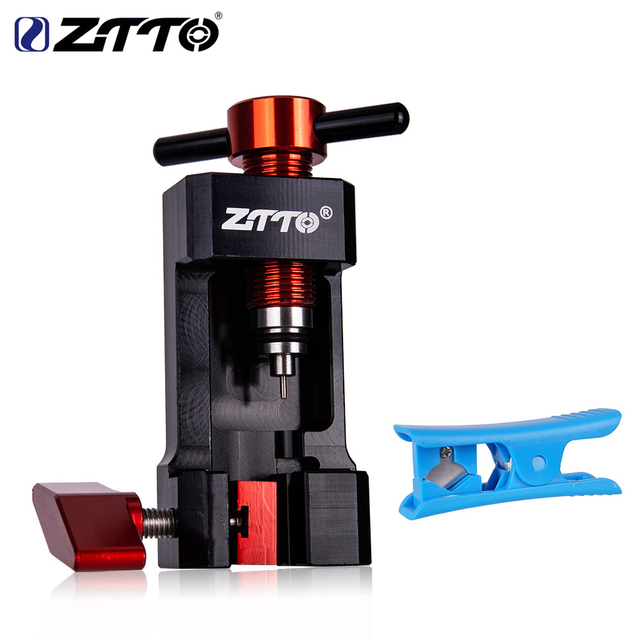 ZTTO MTB Bicycle Needle Tool Driver Hydraulic Hose Cutters Disc Brake Hose Cable Cutter Connector Insert Tool Press in