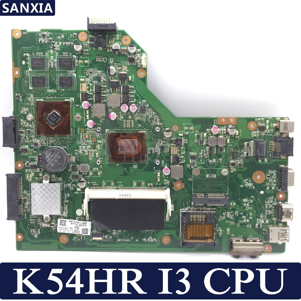 KEFU K54HR Laptop motherboard for ASUS K54HR X54HR X54HY K54LY X54H Test original mainboard I3-2330M/2350M PM k54hr x54h k54ly laptop motherboard for asus for i3 cpu full tested ok 6 months warranty