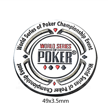 Jetons de Poker Étoiles Dealer En Alliage de Zinc 1