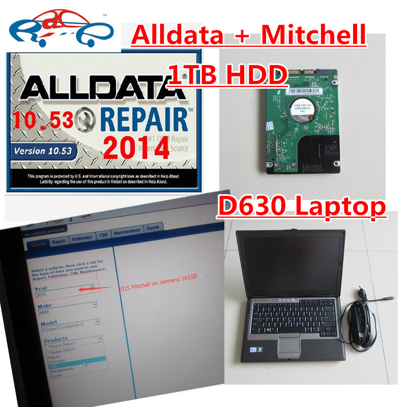 Diagnostic Tools Amicable All Data 10.53 Alldata And Mitchell Software 2015 Alldata 10.53 Back To Search Resultsautomobiles & Motorcycles mitchell On Demend In 1tb Hdd Install D630 Laptop Ready To Work Bright In Colour