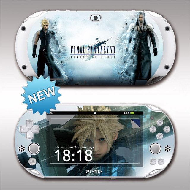 US $6 59 |Front&Back Protective PSV2000 Skin Stickers Cover For Sony PS  vita 2000 Monster Hunter PSV2000 Decal Vinyl Skin Sticker Protecto-in  Stickers