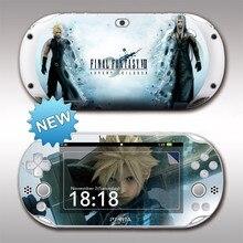 Передняя и задняя защитные стикеры для Sony PS vita 2000 Monster Hunter PSV2000, Виниловая наклейка для защиты кожи