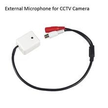 Мини CCTV Микрофон безопасности наблюдения аудио вход широкий диапазон CCTV камера Звук Пикап для AHD DVR IP камера