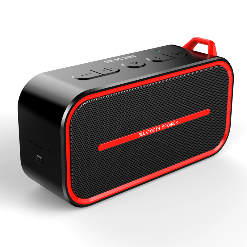SEE ME HERE BV500  Portable Wireless Bluetooth Speaker Loud with Bass, IPX5 Water proof with TWS Resistant Hiking Climbing Beach