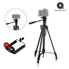 Max Load 3KG WT-3730 Tripod Stand DSLR Camera + 3D Cradle Head For Video Studio