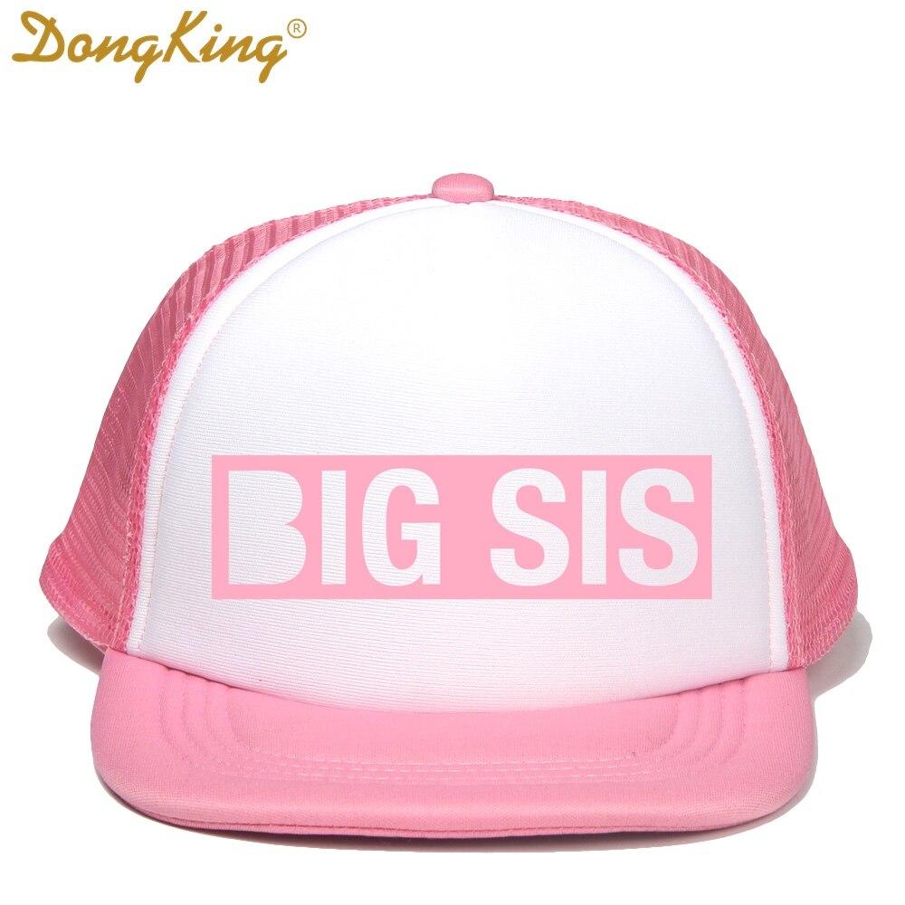 9cbb8af60 US $9.0  DongKing Kids Trucker Hat BIG BRO Cap BIG SIS Hats LIL BRO LIL SIS  Snapback Hat Big Brother Big Sister Baby Boy Girl Party Gift-in Men's ...