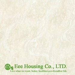 Boa resistência à abrasão Polido Porcelana Ladrilhos Para Uso Residencial, 600*600 Telhas Duplo carregamento