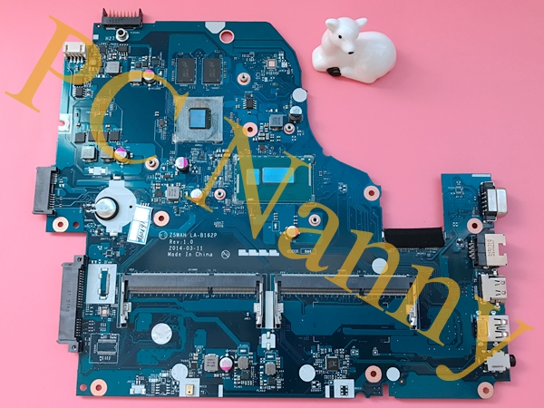 Z5WAH LA-B162P For Acer Aspire E5-571G Laptop Motherboard Intel Core i7-4510U 2xSO-DIMM DDR3L NVIDIA GeForce 840M 2GB Video