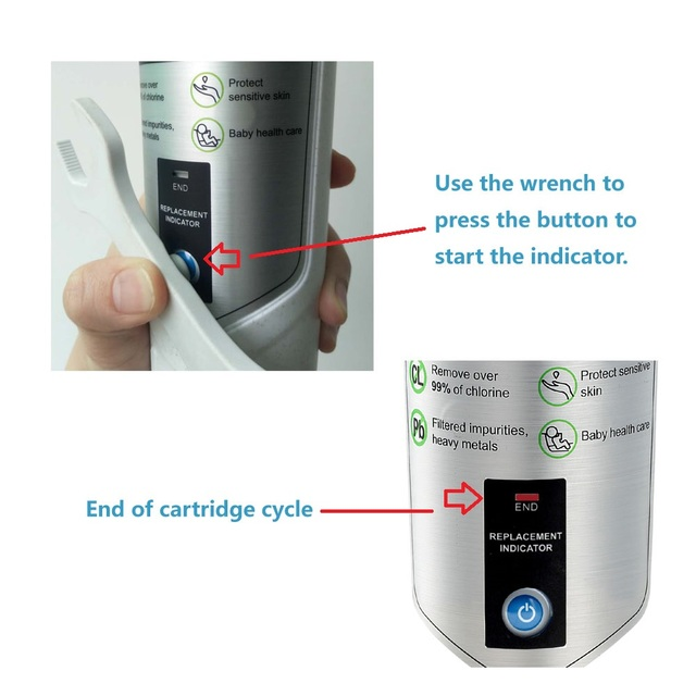 Фото горячая распродажа фильтр для воды miniwell l720 душа удаления
