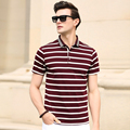 2016 Newest arrival men's fashion classic business short sleeve polo shirt