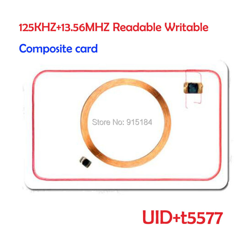 US $0 98 |RFID 125 khz&13 56Mhz nfc card EM4305&t5577+UID changeable with  block 0 mutable writable for 1k s50 clone crack hack-in Access Control  Cards