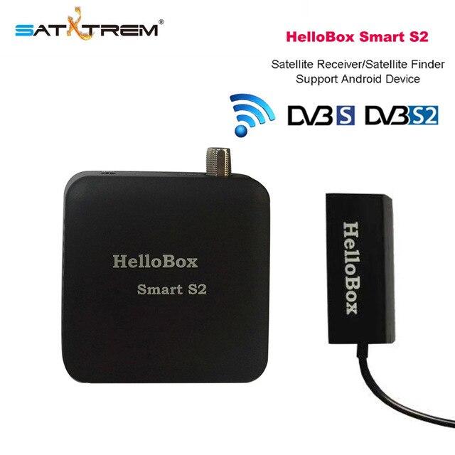 Hellobox Smart S2 Satelite Finder HD مستقبل التلفاز لعب على الهاتف المحمول/اللوحي مستقبل رقمي DVB لاعب جهاز استقبال قمر صناعي