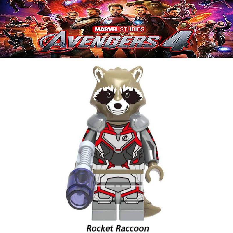 Avengers figures super hero blocks Captain Marvel Ironman Spiderman Deadpool Thor Batman wonder woman builing blocks kids gifts