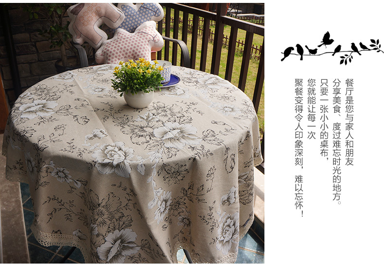 online buy wholesale vinyl tablecloth round from china vinyl