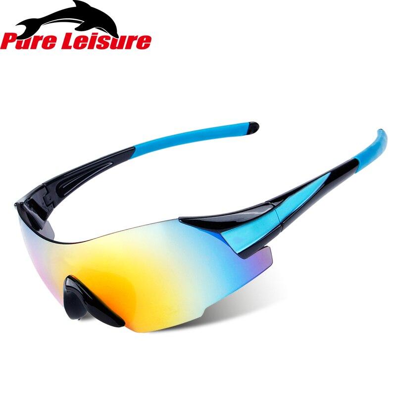 44ea51c3e Pesca com Mosca Uv400 de Sol dos Homens Pureleisure Óculos Polarizados Pesca  Luneta Peche Zonnebril Esporte