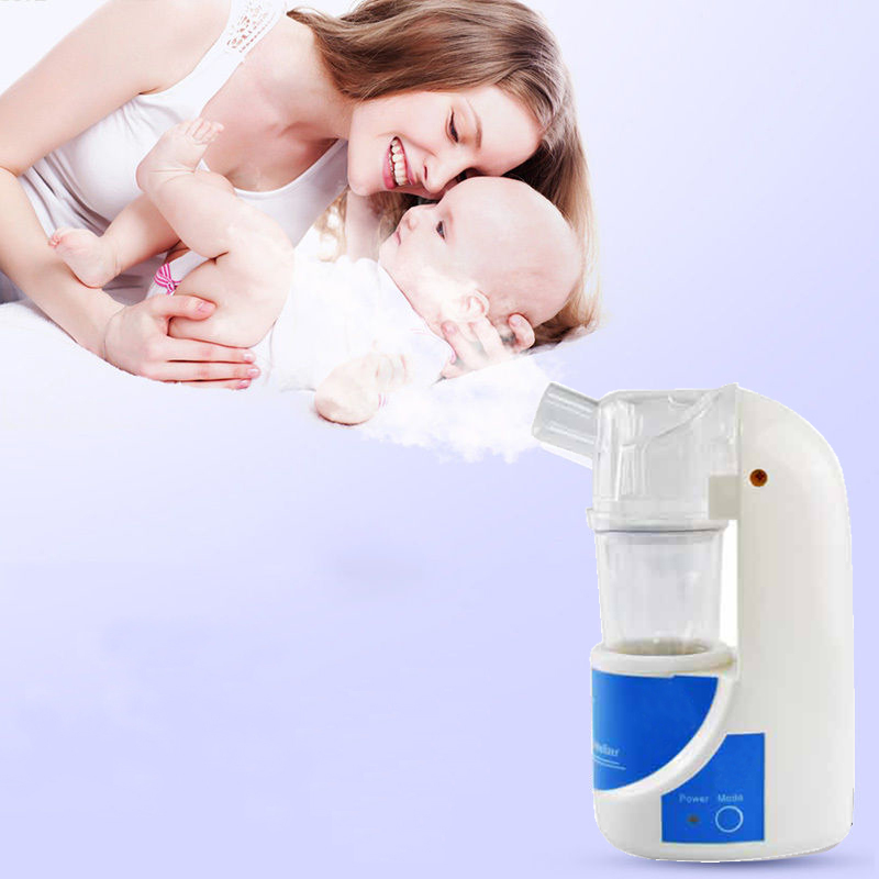 Home Medical Ultrasonic Atomizer Portable Inhaler Nebulizer Health Care Medical Treatment For Children and Adult Asthma medical care erectile dysfunction treatment prostate for man s dusease for home use