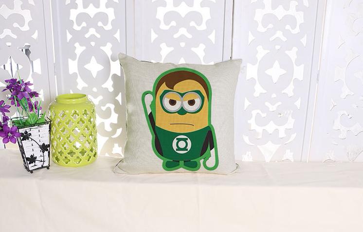 american hero hulk el gigante verde falk minions emoji almohada masajeador cojines decorativos arte decoracin de