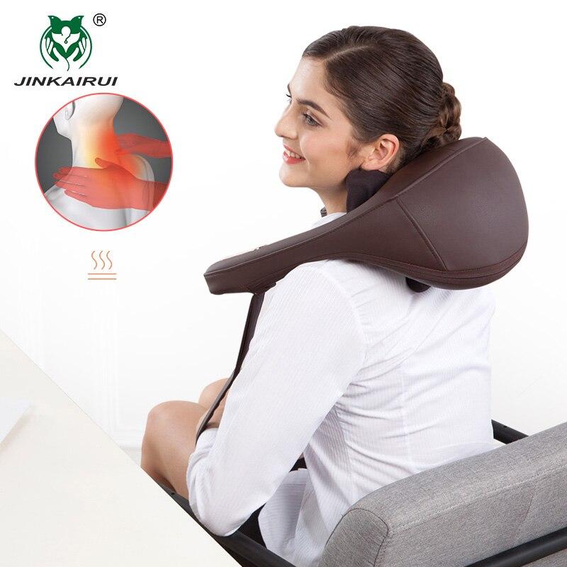 Anti-stress Travesseiros de Pescoço e Ombro Massagem Malaxação Elétrica Clipe Casa Cervical Dispositivo de Massagem Massageador Ferramenta Saúde