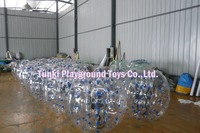 Popular and funny inflatable body bumper ball/inflatable bubble football