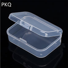 21 sizes Clear Lidded Small Plastic Box For Trifles Parts Tools Storage Box Jewelry Display Box Screw Case Beads Container New(China)