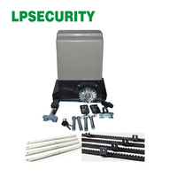 LPSECURITY 800KGS Electric Worm gear drive automatic sliding gate opener /sliding gate motor with 6 Meter rack
