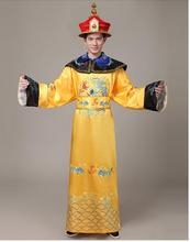 Купить с кэшбэком Luxury Lovers' Costume Men Women clothing robes king queen costume stage cosplay  wedding photography clothes   Free shipping