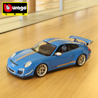 1:18 Die Cast Auto Mobile Coche Alloy Luxury Vehicle Super Car Model Imitation Cars mkd2 Toys for Children Luxury 911 porscheGT3