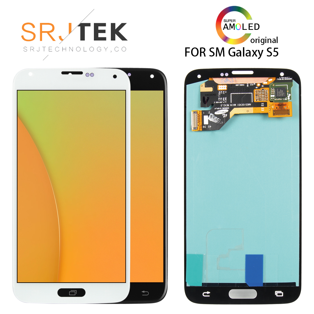 5.1 Original AMOLED LCD For SAMSUNG S5 LCD Touch Screen For SAMSUNG Galaxy S5 LCD Display Screen S5 i9600 G900 LCD Parts5.1 Original AMOLED LCD For SAMSUNG S5 LCD Touch Screen For SAMSUNG Galaxy S5 LCD Display Screen S5 i9600 G900 LCD Parts