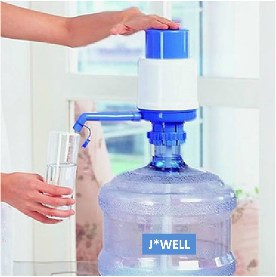 Useful Home Articles Drinking Water Hand Pump For Bottled: Easy Drinking Water Bottle Faucet Hand Press Pump For