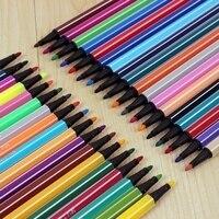 סמן סט 12/18/24/36 צבעים מים צבע עט ציור עפרונות עט מברשת סמנים לילדים אמנות ציוד רחיץ|טושים|ציוד למשרד ולבית הספר -