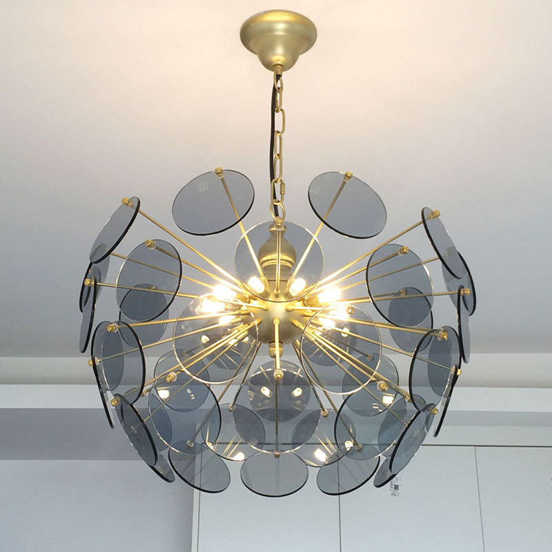 Nordic Art Home Deco Led Chandelier Lighting For Living Room Dining Room Villa Hall Creative Led Pendant Lamp Strange Light Chandeliers     - title=