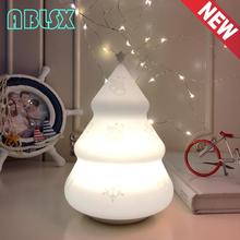 Beside Lamp Baby Night Light Christmas Tree Led For Children 7 Color Changed Gift Touch Nightlight Child