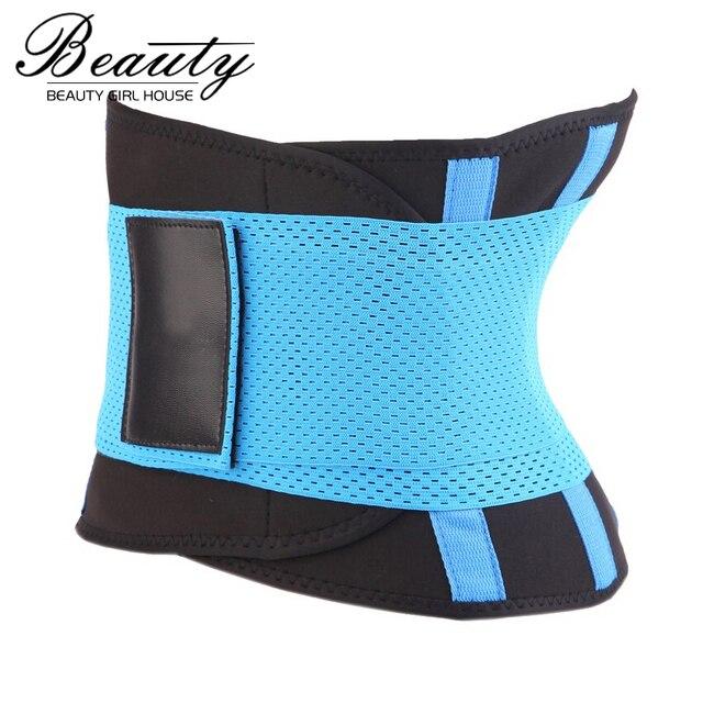 3eeb5c541d Fitness Waist Trimmer Women Sexy Postpartum Corset Belt Firm Slimming Belly Waist  Trainer Girdles Body Shapers Hot sale