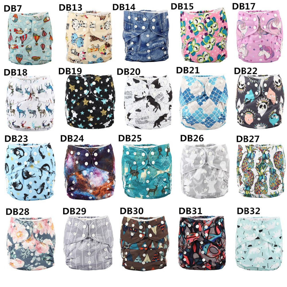 [Sigzagor]10pcs 2 to 7 years old Big Cloth Diapers,Nappy,Pocket,Reusable Washable,Microfleece Inner,Baby Kids Toddler Junior