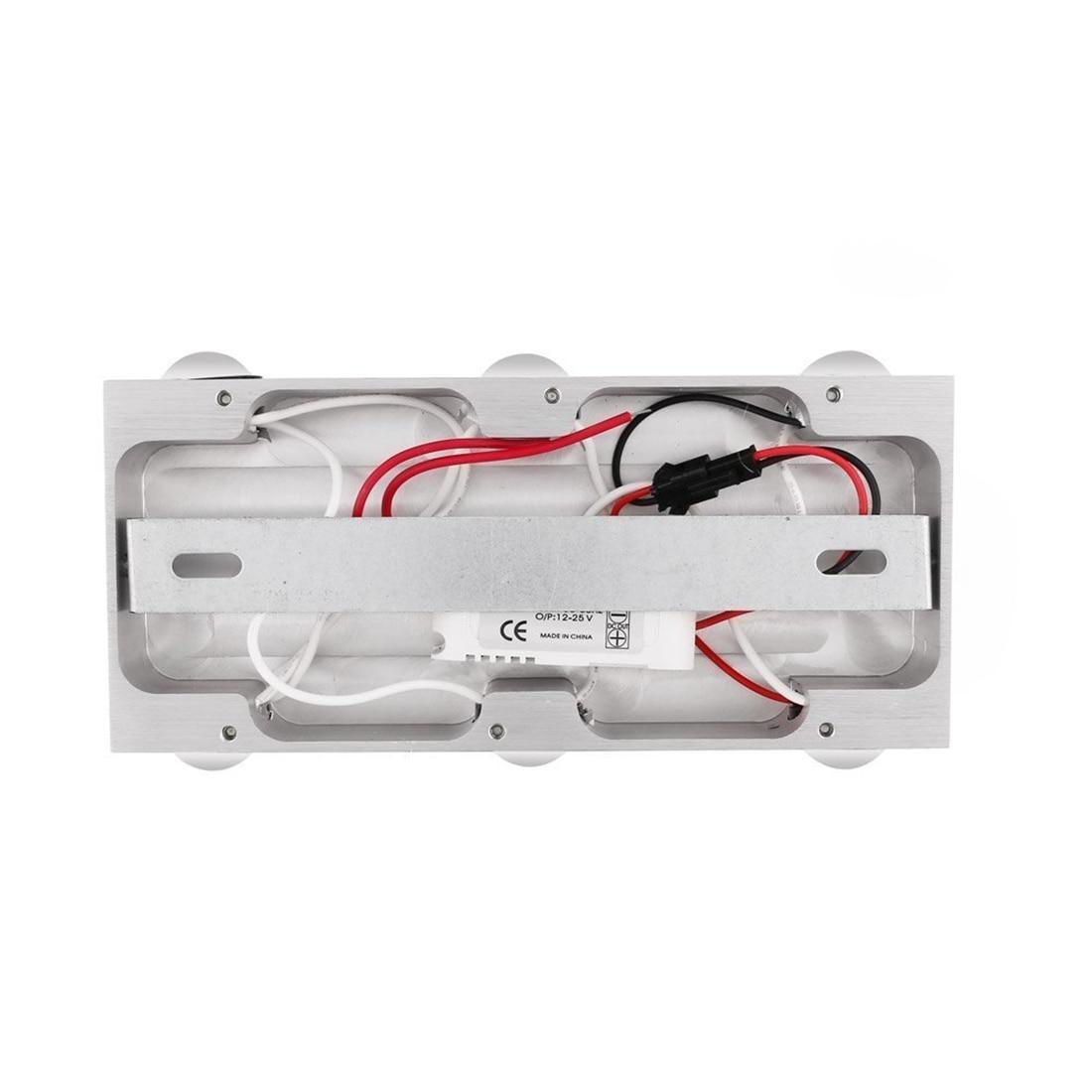 LED wall light 18 W 6000 Kelvin, cool white or warm white