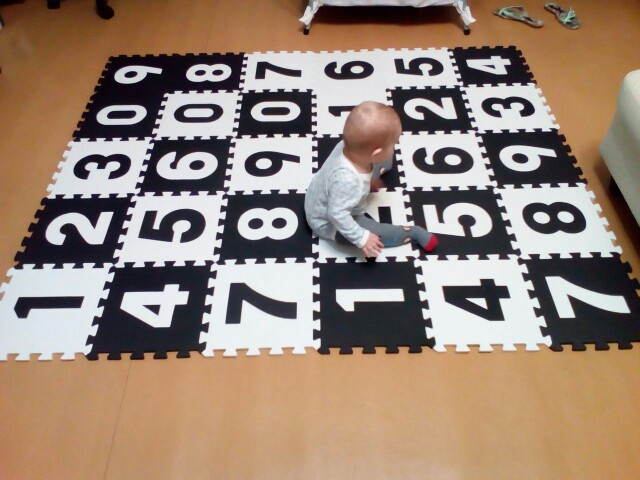 Foam Tegels Baby : Eva marjinaa children s soft developing crawling rugs baby play