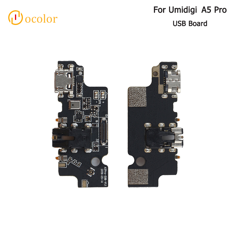 Ocolor For Umidigi A5 Pro USB Charge Board Replacement Parts USB Plug Charge Board For Umidigi A5 Pro Phone Accessories